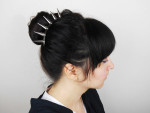 TUTORIAL: Hair Dos with the Studded Hair Comb