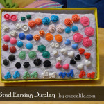 TUTORIAL: Stud Earring Display