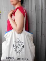 TUTORIAL: Add a zipper to a tote bag